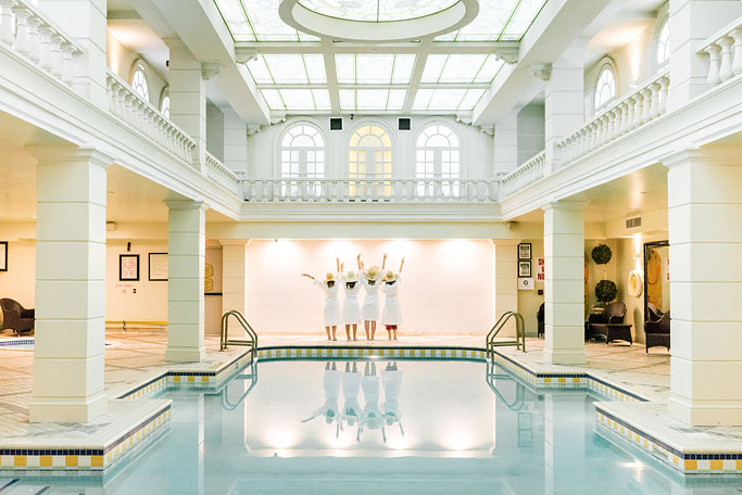 Neoclassical Swimming Pool at Grand Hotel Toronto