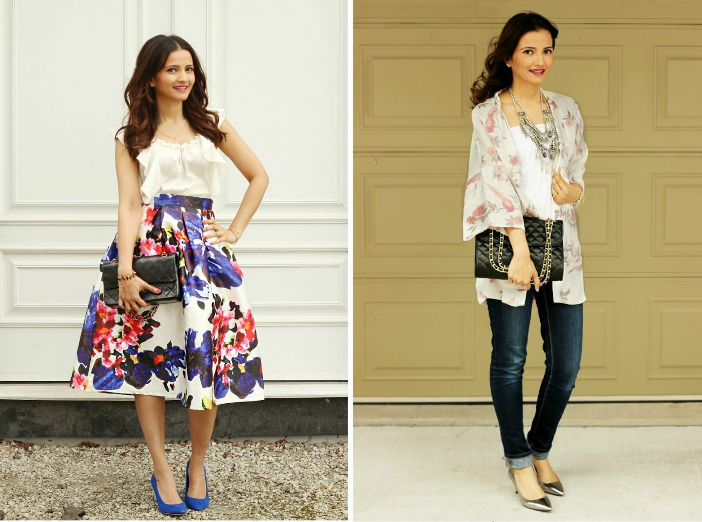 Comparing a Chanel Flap bag with a Rebecca Minkoff Quilted Affair