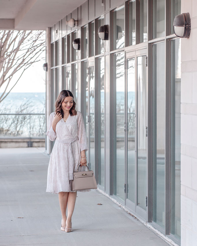 Ann-Taylor-Snakeskin-Print-Dress-Blogger-Outfit