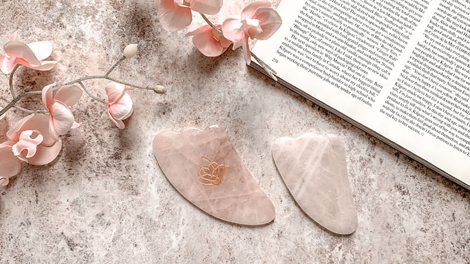 How to Use Facial Rollers - Gua Sha