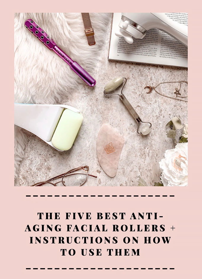 How to Use Facial Rollers - Jade Roller, Ice Roller, Gua Sha, Nurse Jamie and Clarisonic