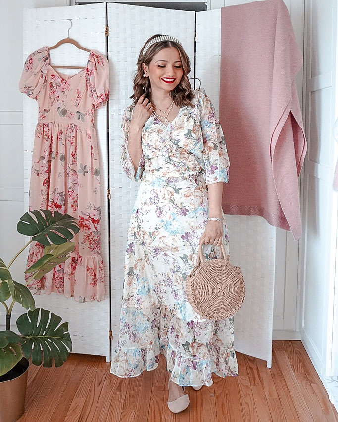 chicwish-floral-dress-blogger-outfit