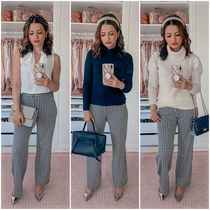 cabi Fall 2020 + How to Style Houndstooth Trousers
