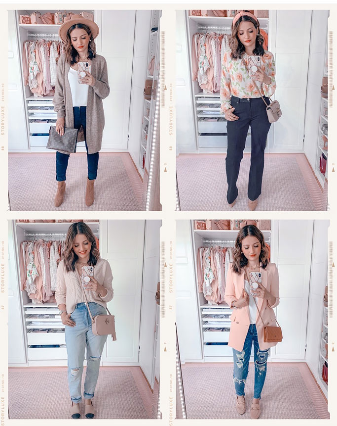 Styling Denim for Fall – Skinny Jeans, Mom Jeans, Trouser Jeans and Distressed