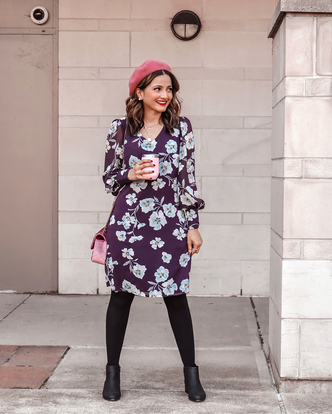 Styling Fall Florals – the cabi Ellery Dress