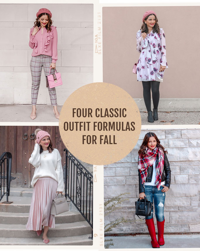 Four Classic Outfit Formulas for Fall
